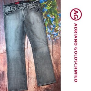 AG Adriano Goldschmied The Kiss Gray Jeans 32R